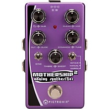 Open Box Pigtronix Mothership 2 Analog Synthesizer Pedal