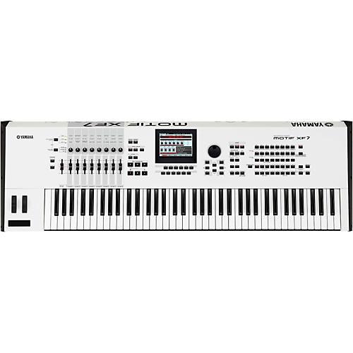Yamaha Motif XF7 White 76-Key Workstation