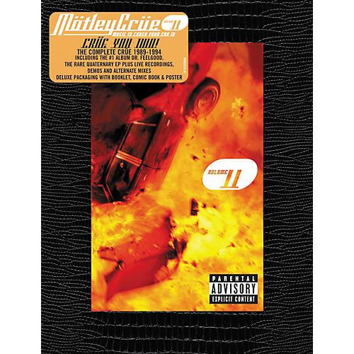 Music CD Motley Crue - Music to Crash Your Car To, Vol. 2 Box Set (CD)