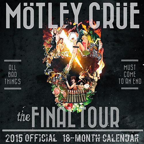 Browntrout Publishing Motley Crue 2015 Calendar Square 12x12