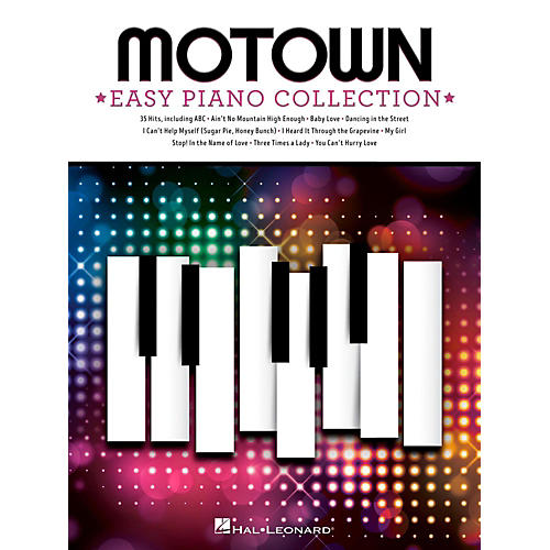 Hal Leonard Motown - Easy Piano Collection