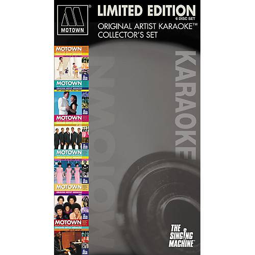 The Singing Machine Motown 6-Pack
