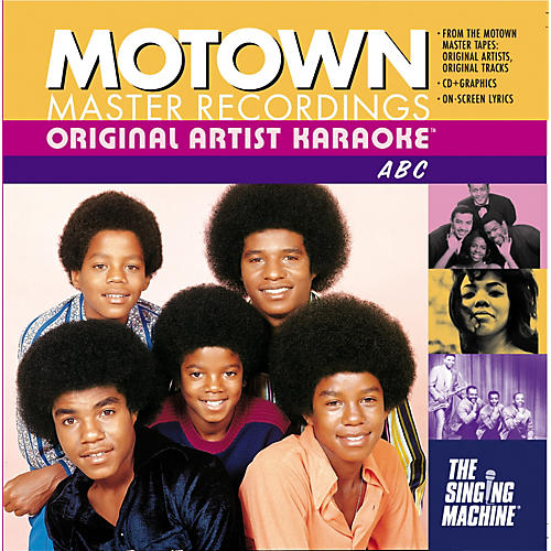 The Singing Machine Motown ABC Karaoke CD+G