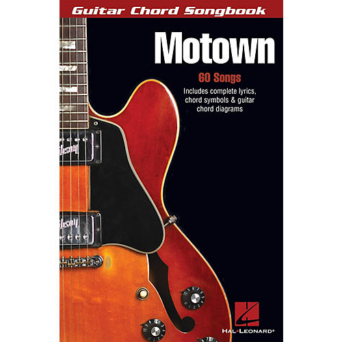 Hal Leonard Motown Guitar Chord Songbook Series Softcover