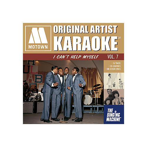 The Singing Machine Motown I Can't Help Myself Karaoke CD+G