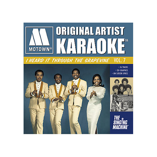 The Singing Machine Motown I Heard It Through The Grapevine Karaoke CD+G