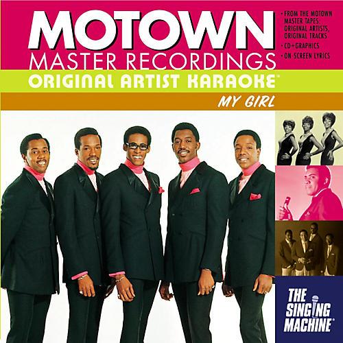 The Singing Machine Motown My Girl Karaoke CD+G