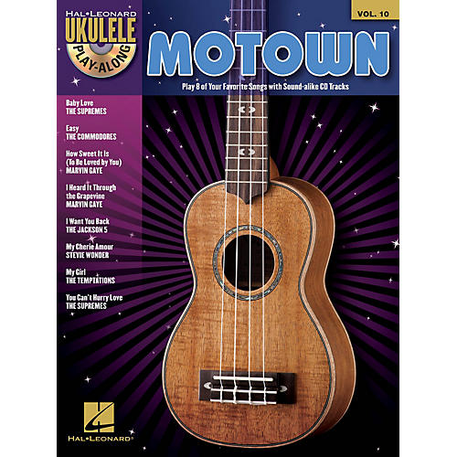 Hal Leonard Motown (Ukulele Play-Along Volume 10) Ukulele Play-Along Series Softcover with CD Performed by Various