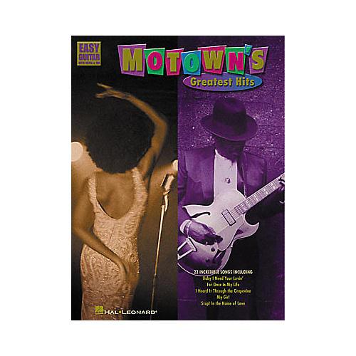 Hal Leonard Motown's Greatest Hits Easy Guitar Tab Songbook