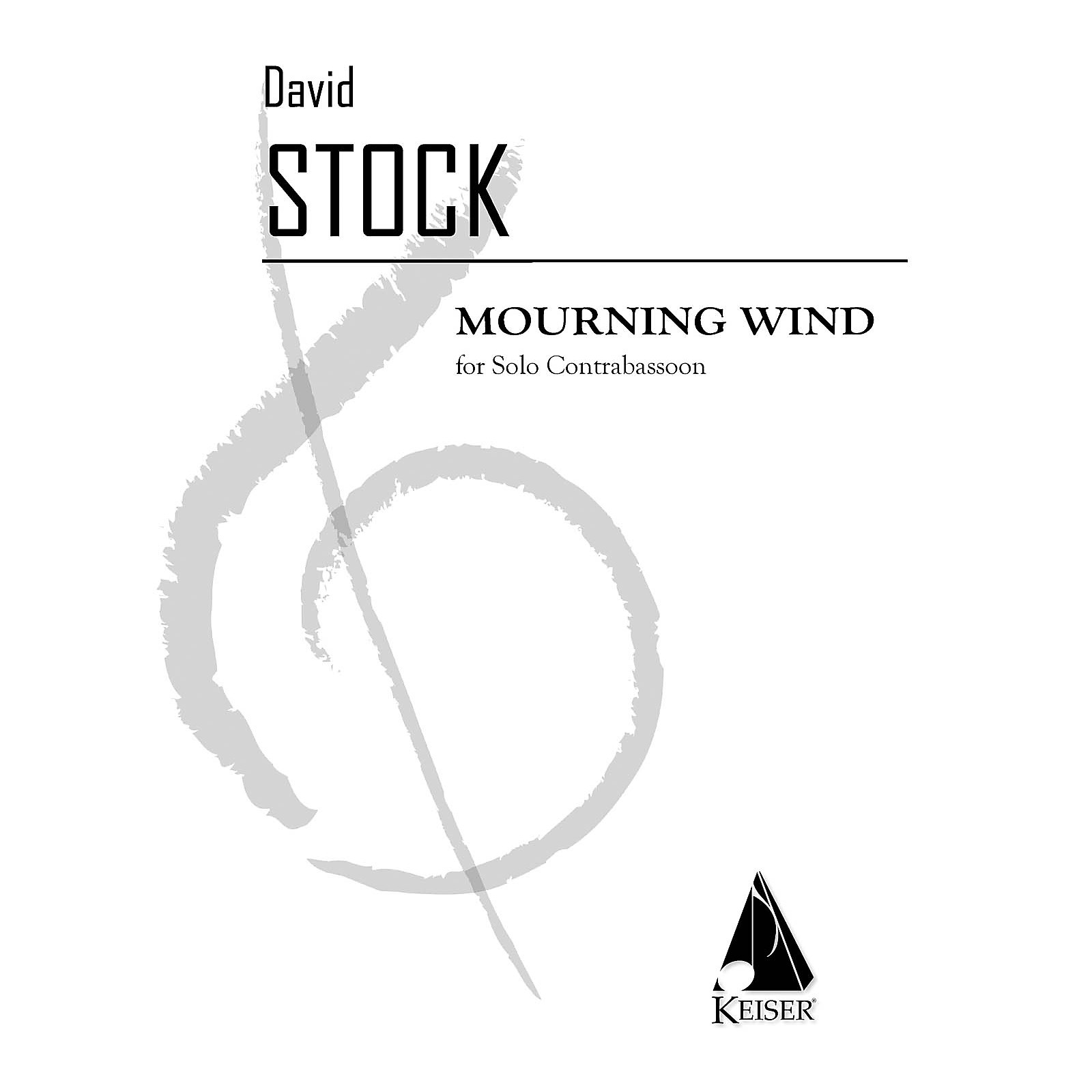 Lauren Keiser Music Publishing Mourning Wind (Double Bassoon) LKM Music Series