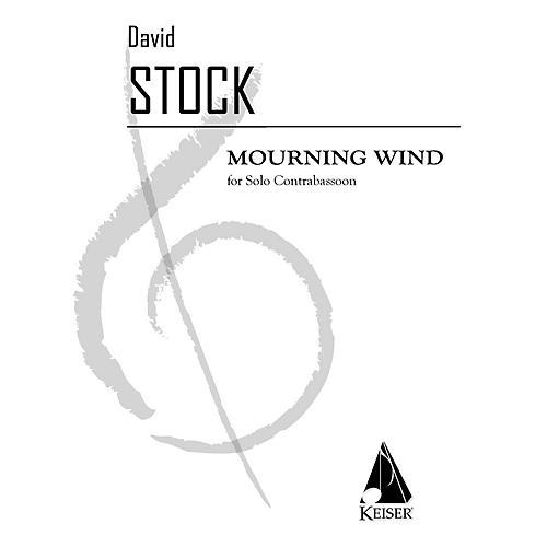 Lauren Keiser Music Publishing Mourning Wind (Double Bassoon) LKM Music Series
