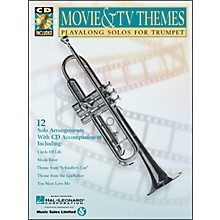 Hal Leonard Movie And TV Themes Playalong Solos for Trumpet Book/CD