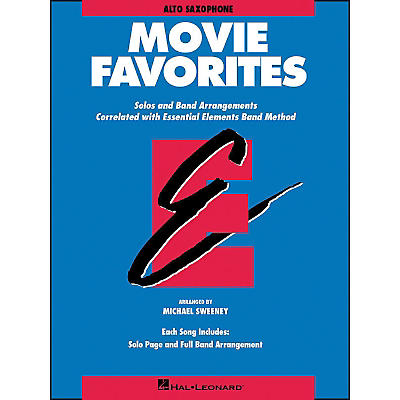 Hal Leonard Movie Favorites Alto Saxophone
