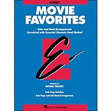 Hal Leonard Movie Favorites Clarinet