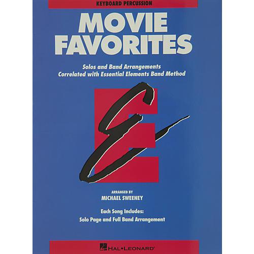 Hal Leonard Movie Favorites Keyboard Percussion