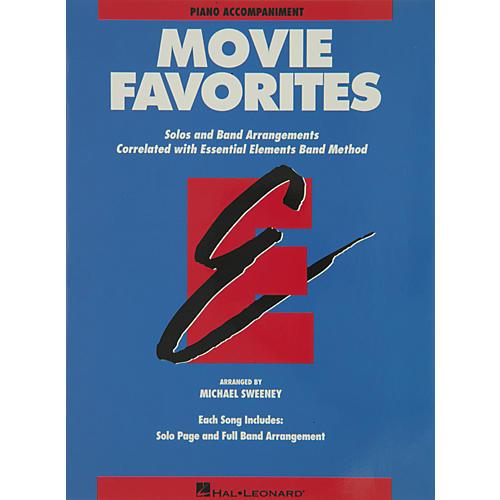 Hal Leonard Movie Favorites Piano Accompaniment