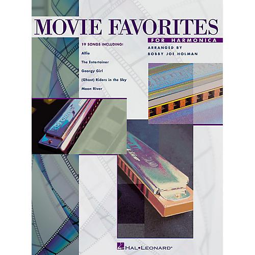 Hal Leonard Movie Favorites for Harmonica Harmonica Series
