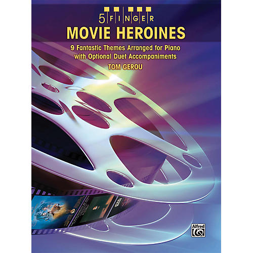 Alfred Movie Heroines 5 Finger Piano