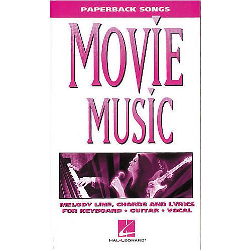 Hal Leonard Movie Music - Paperback Songs Series