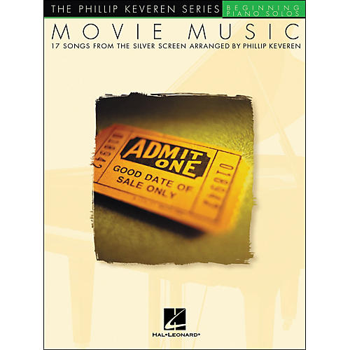 Hal Leonard Movie Music - The Phillip Keveren Series Beginning Piano Solos
