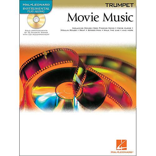 hal leonard movie music for trumpet book cd musician 39 s friend. Black Bedroom Furniture Sets. Home Design Ideas