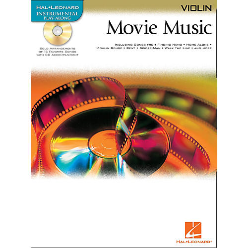 Hal Leonard Movie Music for Violin Book/CD