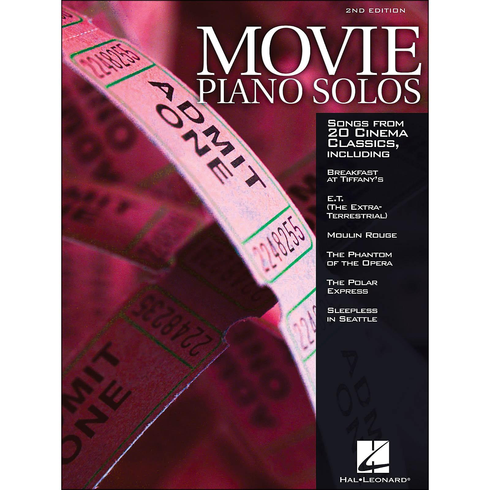Hal Leonard Movie Piano Solos