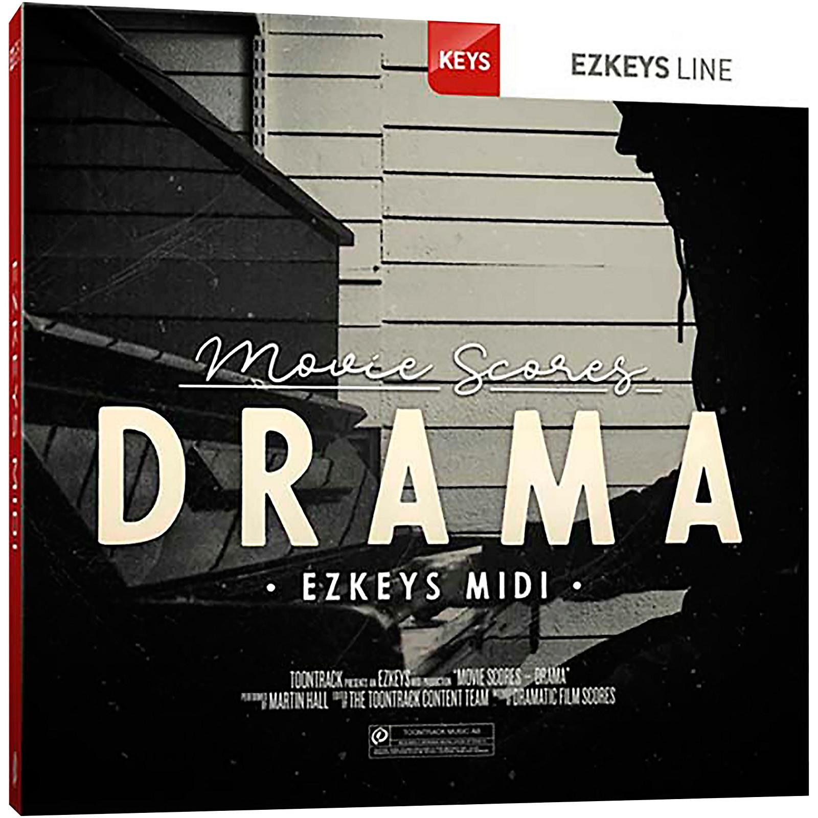 Toontrack Movie Scores EZKeys MIDI — Drama (Download)