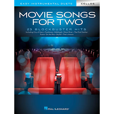 Hal Leonard Movie Songs for Two Cellos - Easy Instrumental Duets