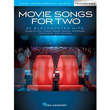Hal Leonard Movie Songs for Two Trombones - Easy Instrumental Duets