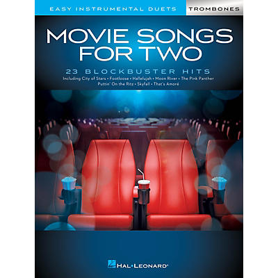 Hal Leonard Movie Songs for Two Trombones - Easy Instrumental Duets