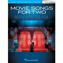 Hal Leonard Movie Songs for Two Violins - Easy Instrumental Duets