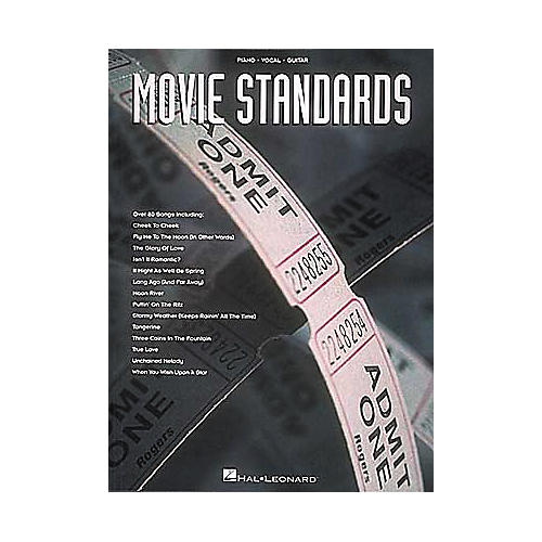 Hal Leonard Movie Standards Piano, Vocal, Guitar Songbook