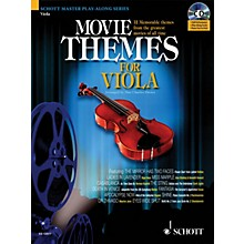 Schott Movie Themes for Viola Instrumental Play-Along Series