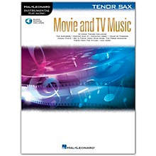 Hal Leonard Movie and TV Music for Tenor Sax Instrumental Play-Along Book/Audio Online