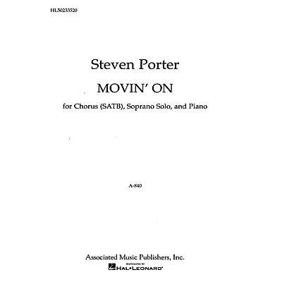 Associated Movin On /Sop Solo/Pno SATB