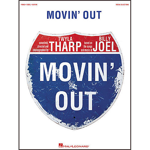 Hal Leonard Movin' Out Broadway Vocal Selections Book