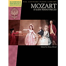 G. Schirmer Mozart - 15 Easy Piano Pieces Schirmer Performance Editions Softcover by Mozart Edited by Elena Abend