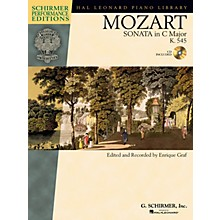 G. Schirmer Mozart - Sonata in C Major, K. 545, Sonata Facile Schirmer Performance Editions Softcover Audio Online