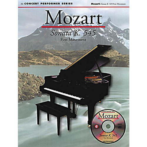 Music Sales Mozart: Allegro (Sonata in C K545) Music Sales America Series Softcover with disk