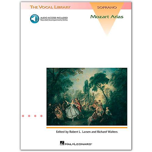 Hal Leonard Mozart Arias for Soprano (Book/Online Audio)