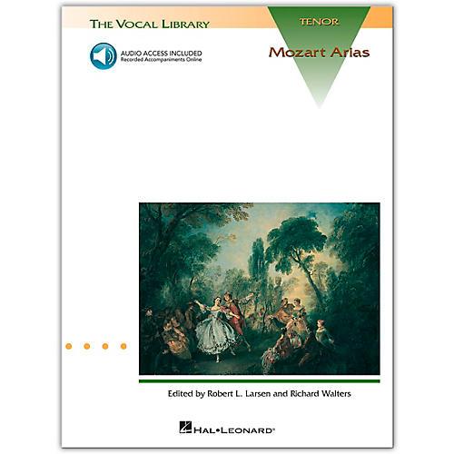 Hal Leonard Mozart Arias for Tenor Voice (Book/Online Audio)