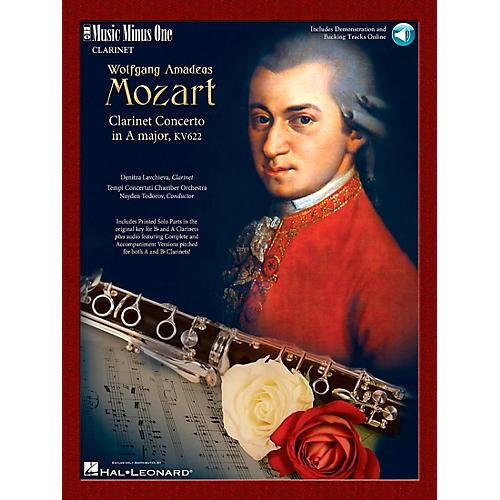 Hal Leonard Mozart Clarinet Concerto A