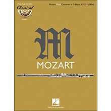 Hal Leonard Mozart: Flute Concerto In D M Ajor, Kv 314 Classical Play-Along Book/CD Vol.1