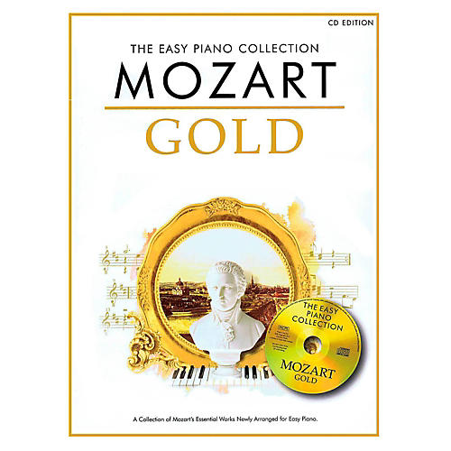Music Sales Mozart Gold - The Easy Piano Collection Book/CD