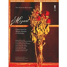 Music Minus One Mozart Opera Arias for Mezzo-Soprano and Orchestra Music Minus One Softcover with CD by Mozart