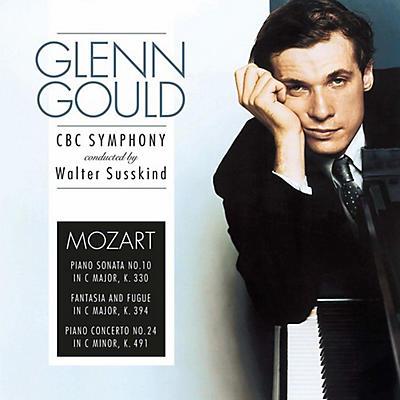 Mozart: Piano Sonata 10 In C Major K 330 / Fantasia & Fugue In C MajorK 394 / Piano Concerto 24 In C Minor K 491