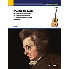 Schott Mozart for Guitar (32 Transcriptions for Guitar) Guitar Series Softcover