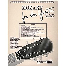 Edward B. Marks Music Company Mozart for Guitar Book