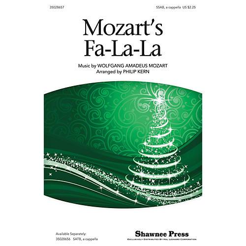 Shawnee Press Mozart's Fa-la-la SAB A Cappella arranged by Philip Kern